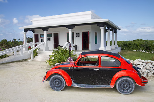 The Volkswagen Beetles of Cozumel, Mexcio
