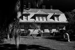 Jeckyll House in BW (Joe Szalay) Tags: statepark bw architecture georgia blackwhite cottage historic preservation jeckyllisland goldenisles