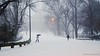 Umbrella in a Blizzard (CVerwaal) Tags: nyc winter snow newyork centralpark umbrellas blizzard microfourthirds olympusem5 lumixgvario1235f28