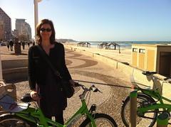 Biking in Tel Aviv