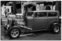 Hotrod (Brett Huch Photography) Tags: bw cars car australia qld queensland hotrod aussie carshow drags hotrods coolangatta dragcar coolyrockscarshow