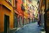 Porto Venere (paolo di sarra) Tags: case vicolo portovenere colorate flickrstruereflection1 flickrstruereflection2 flickrstruereflection3 flickrstruereflection4 flickrstruereflection5