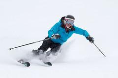 Jasmine Campbell and her dad John Campbell train at Sun Valley, Idaho (Maximilian Monahan) Tags: ski race skiing jasmine idaho olympics campbell sochi sunvalley