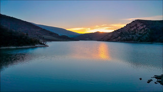 lago di Fiastra - after the sunset