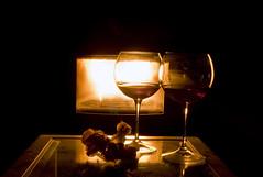 7/52 Romance (igorigor88) Tags: flowers winter light project fire nikon wine valentine week february fiori romantico luce fuoco vino 52 febbraio caldo stufa d40 52weeks2014