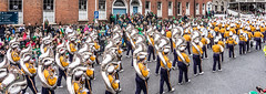 Louisiana State University Tiger Marching Band - St. Patrick's Day Parade In Dublin [Ireland] (infomatique) Tags: dublin festival parade event lsu marchingband tigerland stpatricksdayparade stpatricksfestival louisianastateuniversity streetsofdublin infomatique photographedbywilliammurphy tigermarchingband infomatiquepatricksday2014