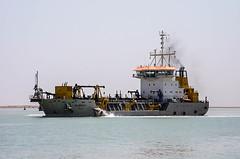 Karbala Dredger, Khor Al-Zubair Port, Iraq