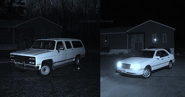 white chevrolet c220 car sedan truck big suburban small boring chevy mercedesbenz automatic trans suv 74 economy v8 liter 2wd cclass 454 rwd 4door r2500 w202 cubicinches