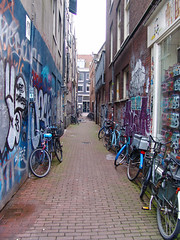 Blue Bikes (Not-the-average-Joe) Tags: blue color netherlands amsterdam bike europe bleu paysbas couleur vlo