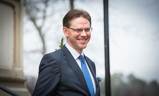 PM Katainen meets with Didier Burkhalter, President of the Swiss Confederation, on 9 April 2014