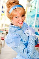 Cinderella (EverythingDisney) Tags: california princess disneyland disney adventure cinderella dca dlr arielsgrotto princesscinderella