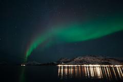 Polarlicht 65 (swissgoldeneagle) Tags: winter cold norway night dark nacht norwegen kalt dunkel auroraborealis polarlights polarlicht polarlight polarlichter d700