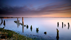 Sticking out... (RF-Edin) Tags: water island nikon long exposure hayling lee