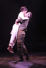 Ma-Anne Dionisio as Kim and Eric Kunze as Chris in Miss Saigon at Music Circus August 23-28. Photo by Charr Crail.