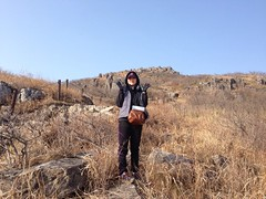 BandPhoto_2014_02_25_22_15_16 (teamlovearth) Tags: 광주 전남 무등산 주상절리 너덜겅 테일러스 안산암 백악기 화산활동