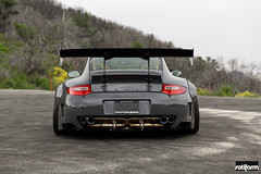 Porsche 997 LibertyWalk - Rotiform LVS-32 (rotiformwheels) Tags: porsche 997 lvs porsche997 libertywalk rotiform ltmw