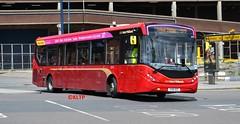 2213 National Express West Midlands (KLTP14) Tags: new red design birmingham 37 mmc westmidlands nationalexpress marroon 2213 alexanderdennis enviro200 nxwm majormodelchange enviro200mmc e200mmc yx15ozc
