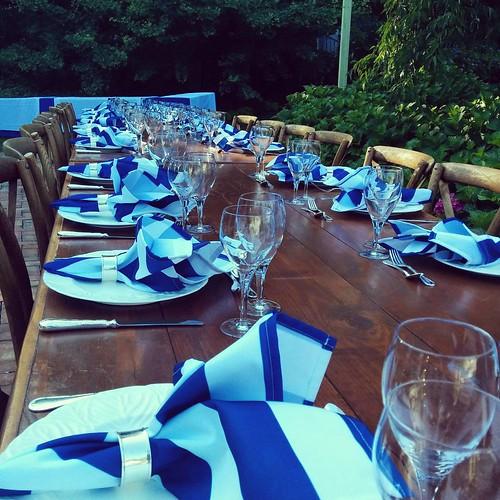 #hamptons #celebrate #anniversary #bluesteel