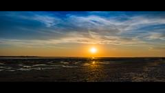 Traversée (Alexandre LAVIGNE) Tags: sunset lumière personnes coucherdesoleil picardie ambiance baiedesomme maréebasse estuaire promeneurs louisengival pentaxk3 hdpentaxda15mmf4allimited