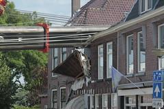 kraancrash Julianabrug-7290 (leoval283) Tags: bridge crash cranes pontoons ponton alphenaandenrijn alphen julianabrug hijskranen brugdek