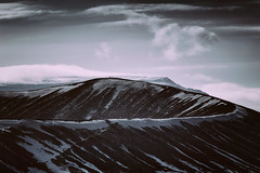 Crater Ridge (Atmospherics) Tags: volcanic crater iceland icelandwinter moonscape landscape volcaniclandscape atmospherics otherworlds myvatn