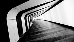 King's Cross Tunnel (jbarry5) Tags: kingscrosstunnel london england blackandwhite monochrome abstract geometry stpancrastunnel stpancraskingscrosstunnel