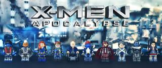 LEGO X-Men: Apocalypse Minifigures