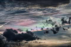Insane iridescent clouds