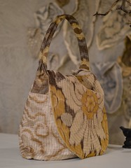 rumpelstilskin bag6 (Danny W. Mansmith) Tags: wwwdannymansmithetsycom handmadebag rumpelstilskin wearableart fiberart sewing gold yellow oneofakind functional drawingwiththesewingmachine dannymansmith burienwashington pockets