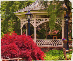A day in Yesteryear *Explore (MissyPenny) Tags: vintage garden pennsylvania gazebo explore quaint newhope lahaska peddlersvillage peddlersvillagepa commonwealthpa kodakz990 pdlaich missypenny