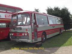KWE 374D (Peter Jarman 43119) Tags: road coach sheffield united rally great north newark tours society reliance aec kwe 374 plaxton 374d