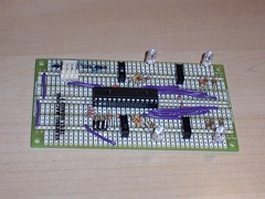 "Test board for Project Vending Machine development • <a style=""font-size:0.8em;"" href=""http://www.flickr.com/photos/61091961@N06/8933217928/"" target=""_blank"">View on Flickr</a>"