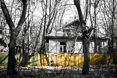 Chernobyl house (MoraTilTordis) Tags: abandoned village radiation ukraine disaster second chernobyl pripyat