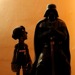 dark heat (nicouze) Tags: dark star james miami finals darth heat figure block wars vader figurine legend lebron vador 2013