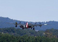 B-24 Witchcraft Liftoff (Argon's Art) Tags: historic sonomacounty dday vintageaircraft collingsfoundation b24witchcraft historicaircraft sonomajetcenter