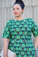 Retro (GirlWithCurves) Tags: curvy curlyhair fashionblog plussizefashion girlwithcurves taneshaawasthi