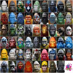 GoGo Gorillas Norwich 2013 (Leo Reynolds) Tags: xleol30x leol30random gogo go gorilla gogogorilla charity photomosaic xexplorex xscoutx xexflx 0sec xxplorstatsx groupphotomosaics groupmosaicscollages hpexif xx2013xx
