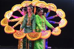 the fans (Grenzeloos1 -) Tags: dancers brisbane queensland colourful fortitudevalley multiculturalfestival fandance 2013