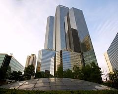 Total Eclipse (Mike Franks) Tags: paris france skyscraper ladefense total 1635mm tourtotal tourcoupole esplanadedeladefense