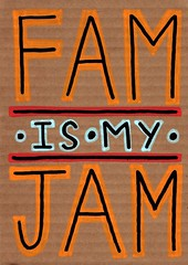 PostCardBoard_001 (Carolyn_Sewell) Tags: red yellow illustration cards typography teal cardboard postcards lettering fam jam handlettering handdrawn carolynsewell postcardboard pstcrdbrd