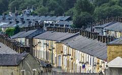 DSC_0040 - Slates, smokestacks and satellite dishes... (SWJuk) Tags: street uk england home nikon terraces lancashire burnley d90 terracedhouses 2013 nikond90 swjuk mygearandme aug2013