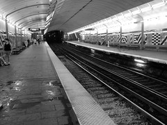Blue Line, Aquarium Stop (beltz6) Tags: subway publictransit blueline rail transit mbta photostream