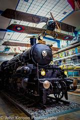 Express Steam Locomotive - 1911 (johnkenyonphotography@gmail.com) Tags: cars technology prague bikes trains planes czechrepublic automobiles technicalmuseum