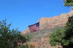 US Flag Waving (pegase1972) Tags: usa utah us ut published unitedstates flag shutter licensed starandstripes