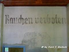 Dachau [D], 2013, Campo di concentramento. (Fiore S. Barbato) Tags: campo dachau verboten germania rauchen fumare baviera vietato concentramento