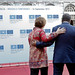 High Representative Catherine Ashton and President Hassan Sheikh Mohamud