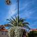 Street Lamp with Flowers in Bad Langensalza