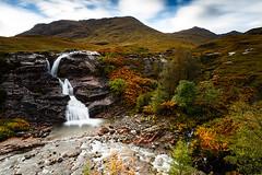 Scotland 2013 (Arnold van Wijk) Tags: greatbritain autumn landscape geotagged scotland waterfall highlands herfst natuur gb glencoe landscap schotland gbr waterval grootbrittannië grootbrittanië dalness fortwilliamandardnamurchanward fortwilliamandardnamurchanwa geo:lat=5666245333 geo:lon=496635438