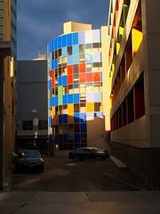 Sunshine (knightbefore_99) Tags: street city blue sky sun canada buildings grey alley winnipeg steel sunny stormy manitoba prairies