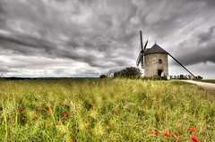 pavots et mulin (rodeo's - Roberto Defilippi) Tags: france poppies francia hdr normandia rodeos papaveri lemontstmichel 2013 pavots dreamphotos nornandie nikond300 creativemindsphotography absolutegoldenmasterpiece jesuscmsfavoritesgallery flickrsfinestimages1 flickrsfinestimages2 flickrsfinestimages3 robertodefilippi inspiringcreativeminds vision:mountain=0643 vision:outdoor=0878 vision:sky=0821 vision:clouds=0834
